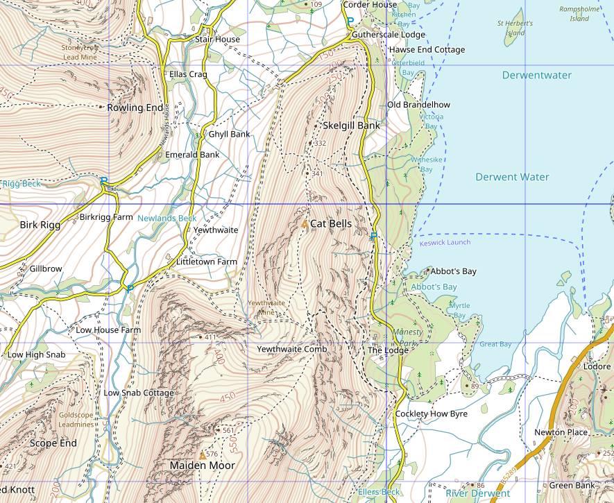 Sample Waymaps map