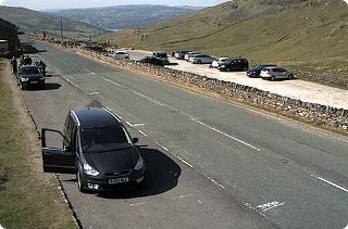 View from Kirkstone Pass weather station