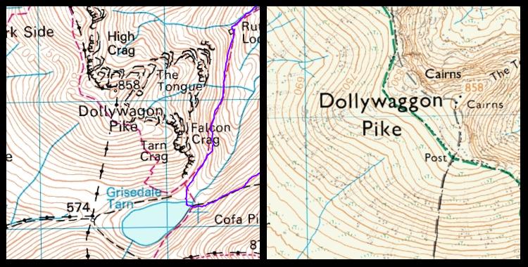 Dollywaggon Pike or Dollywagon Pike?