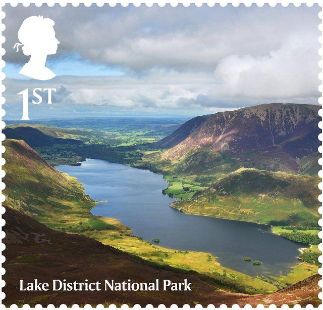 National Park Stamp - Lake District