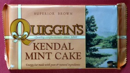 Quiggen's Brown Kendal Mint Cake