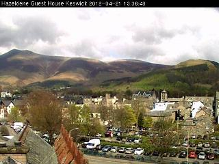 Hazeldene Hotel Skiddaw live video webcam sample image
