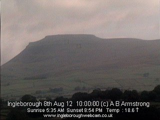 Ingleborough webcam sample image