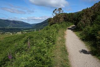 Cumbria Way to Latrigg