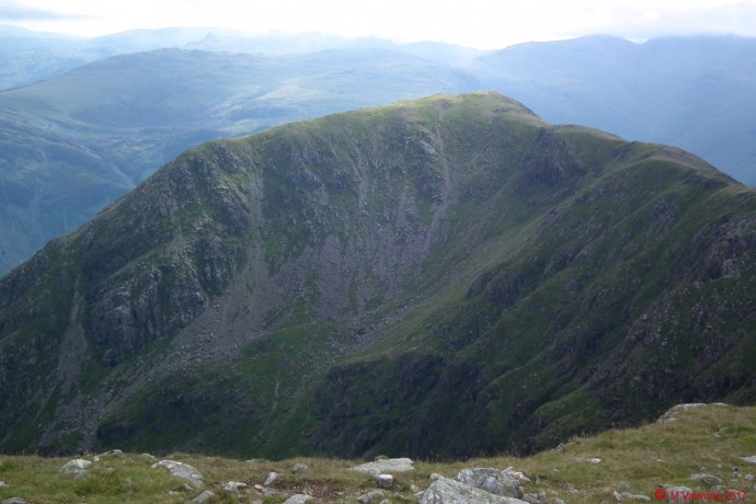 High Crag from the High Stile ridge.