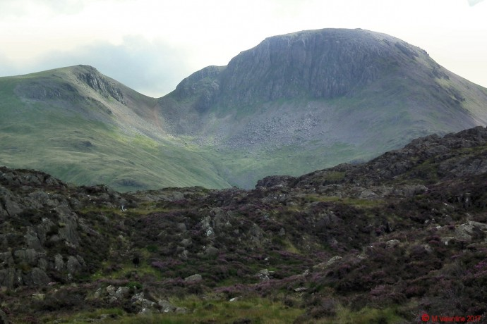 The Gables from Inominate Tarn area.