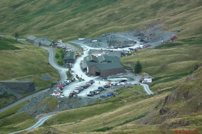Honister YH & Mines buildings.