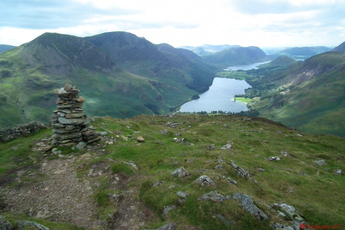 Fleetwith Pike summit view.
