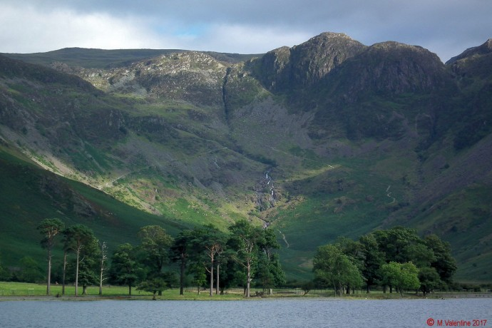 Green Crag and the Buttermere Pines.