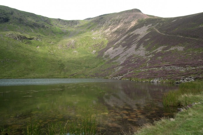 Red Pike from Bleaberry Tarn.