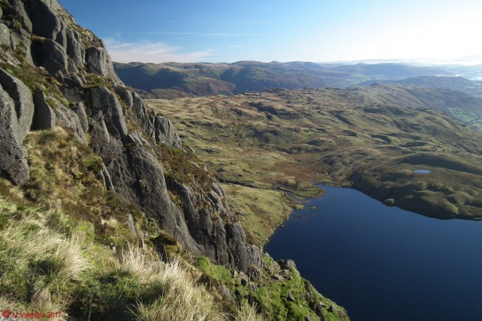 Stickle Tarn from Jack's Rake.