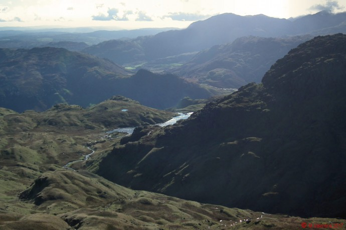 Langdale from Sergeant Man.