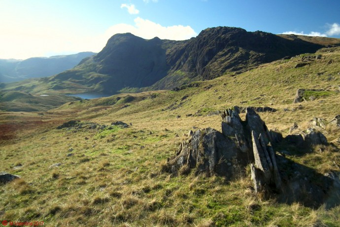 Harrison Stickle & Pavey Ark from Blea Rigg.