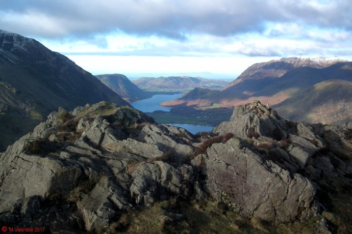 Crummock Water and the hills beyond.