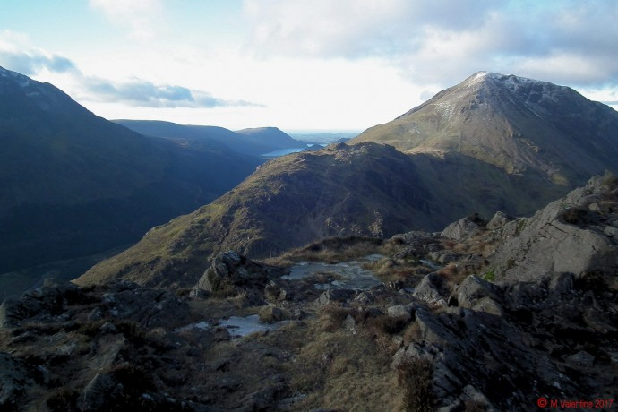 The view towards Ennerdale,