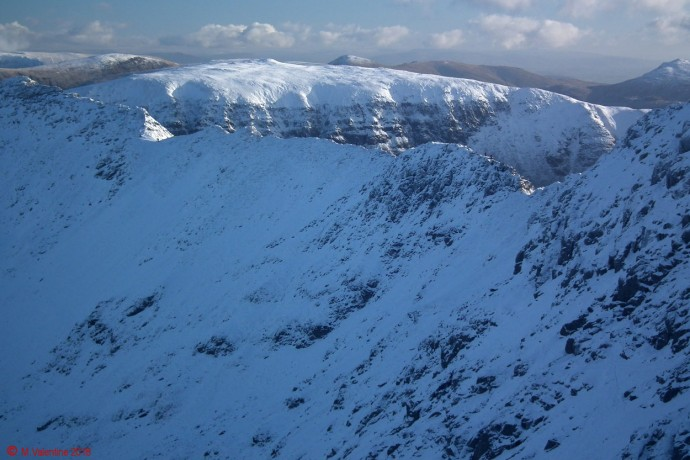 Striding Edge from Swirral Edge.