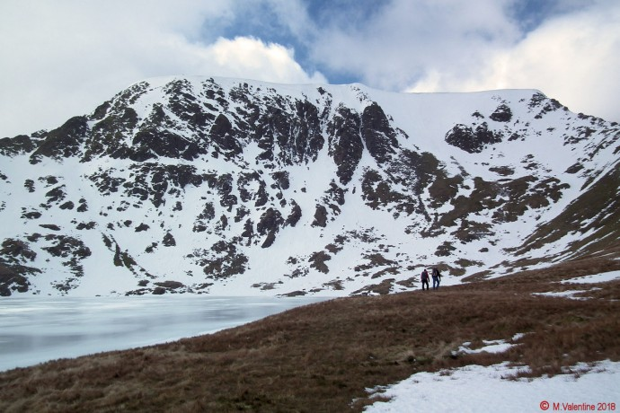 Helvellyn from Red Tarn.