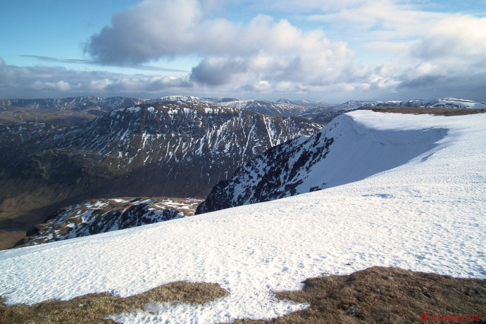 St.Sunday Crag, as seen on the approach to Nethermost Pike.