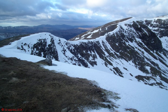 Looking back towards Nethermost Pike.