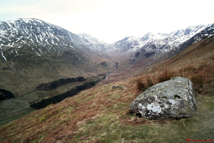 Grisedale Valley from higher up on the Hole-in-the-wall path: -