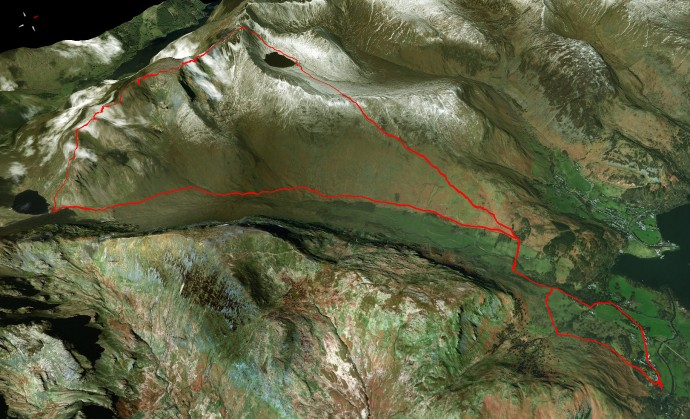 "GPX Track - Waymaps ""Aerial"" 3D Imagery."