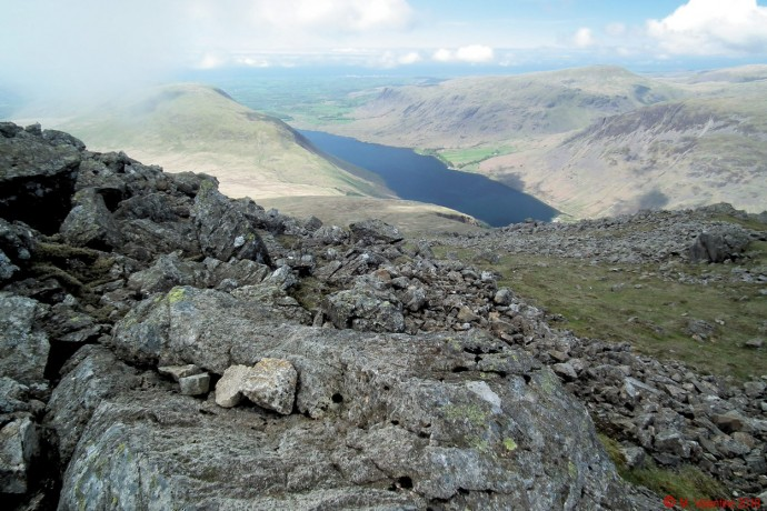 Wastwater from top of Lord's Rake.