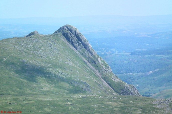 Pike O'Stickle from Galaramara
