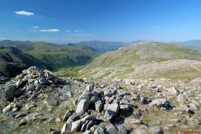 Glaramara from Allen Crags.