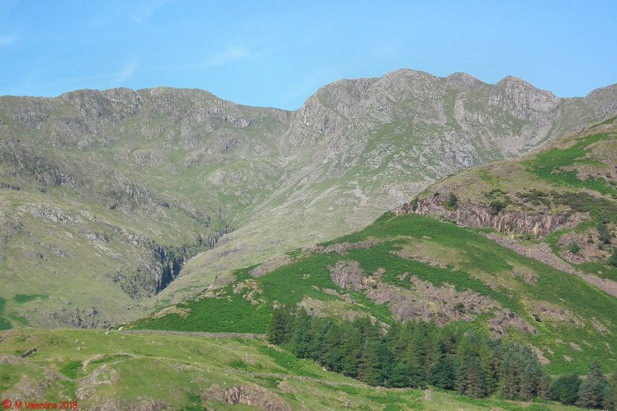 Crinkle Crags view.