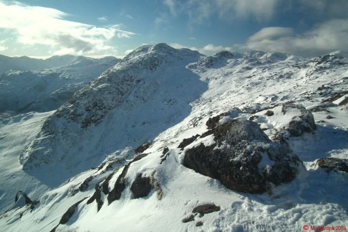 Harrison Stickle from Pavey Ark.
