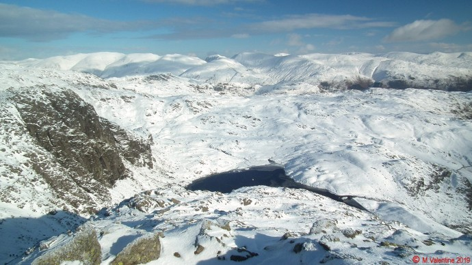 The eastern fells from Harrison Stickle.