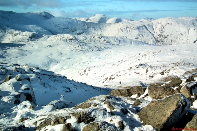Great Gable etc, from Harrison Stickle.