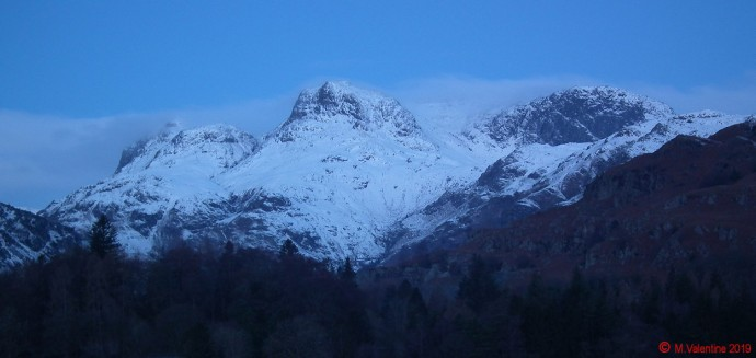 The Langdale Pikes - Before Sunrise.