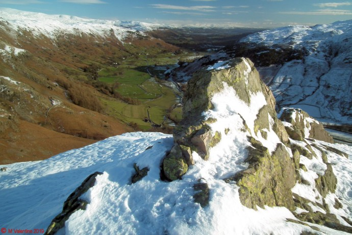 Great Langdale from Pike Howe.
