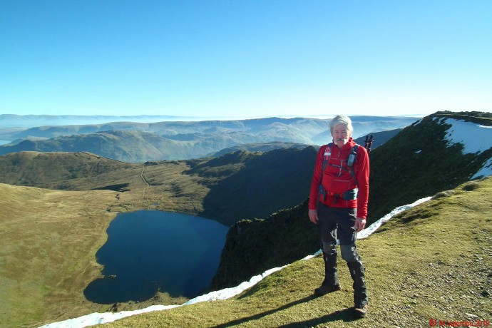 Me at Helvellyn summit.