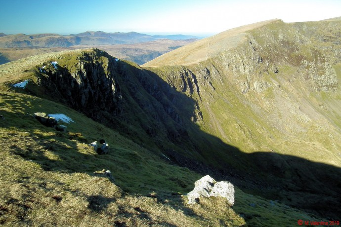 Looking back to High Crag.