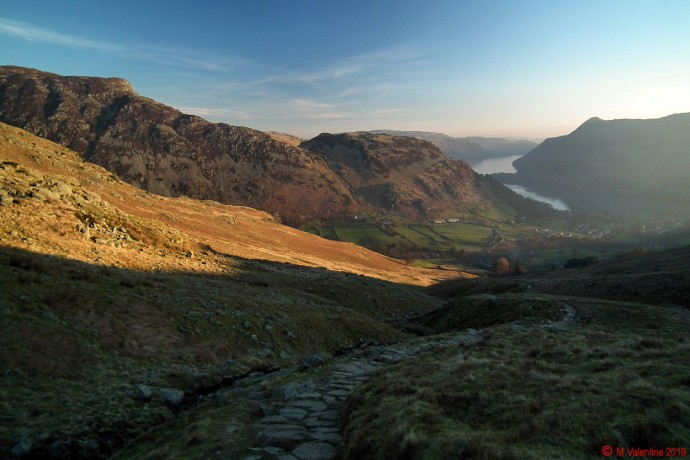 Looking back down Mires Beck towards Glenridding.