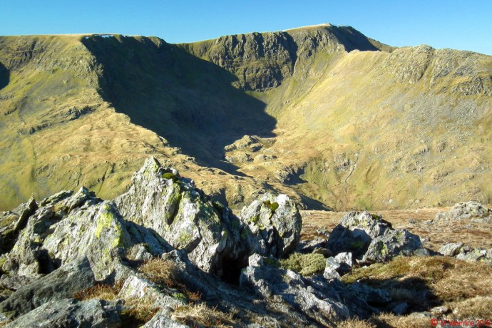 Nethermost Cove from St. Sunday Crag.