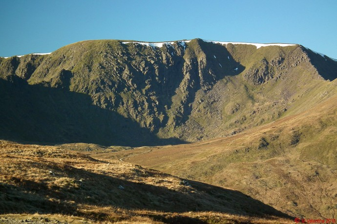 Helvellyn close-up.