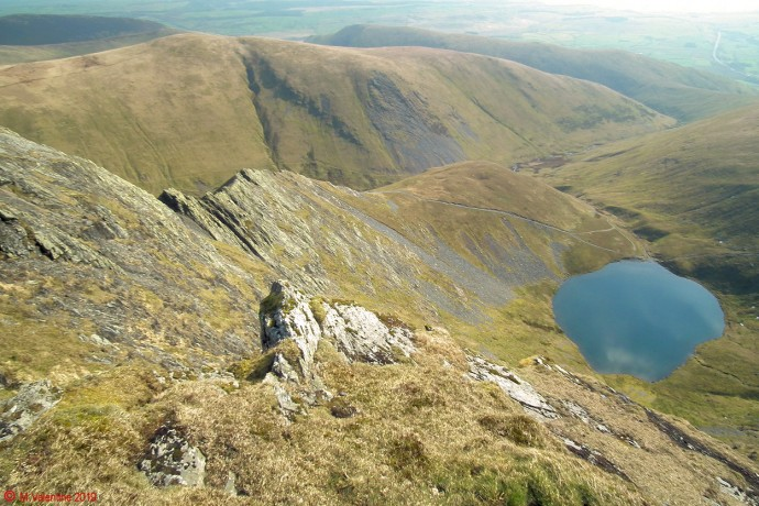 Scales Tarn from the Saddle.
