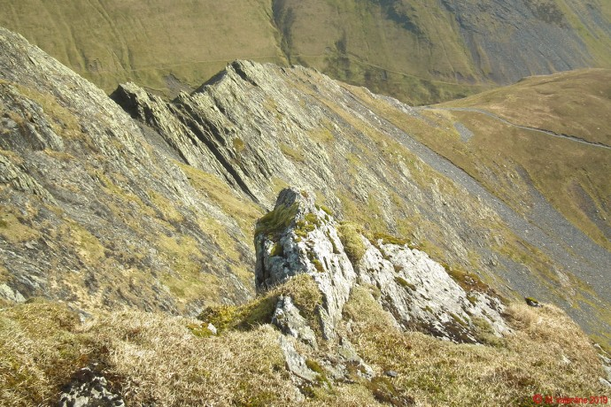 Sharp Edge, from the Saddle.