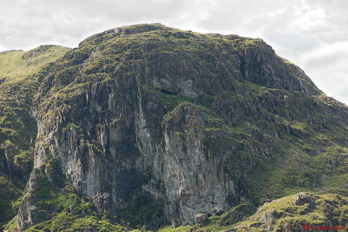 The Priest's Hole Cave high on Dove Crag.
