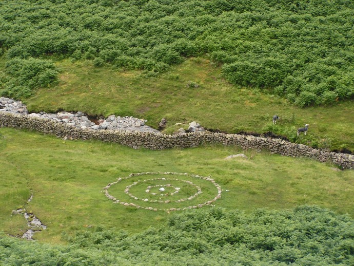Concentric Stone Circles, Tongue Gill, Grasmere