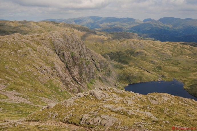 Pavey Ark from Harrison Stickle.
