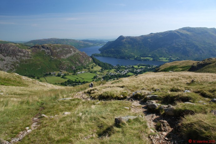 Ullswater from Mires Beck Path.