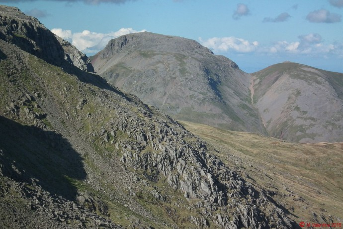 Great Gable and Green Gable.