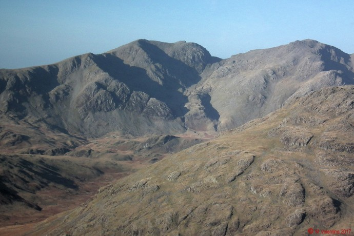 Scafells close-up.