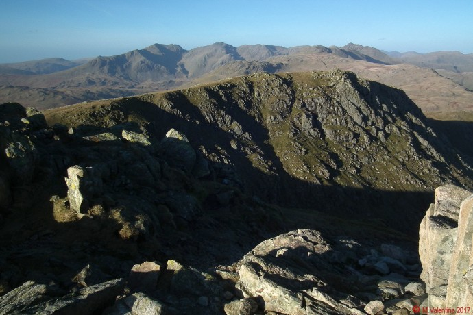 The Scafells etc. from Swirl How summit.