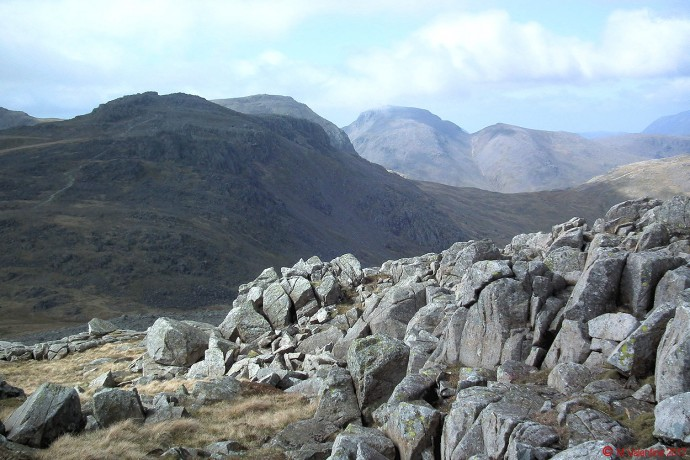 Esk Pike, Great End, Great Gable.