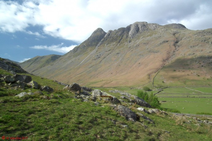 Pike O'stickle and Loft Crag.